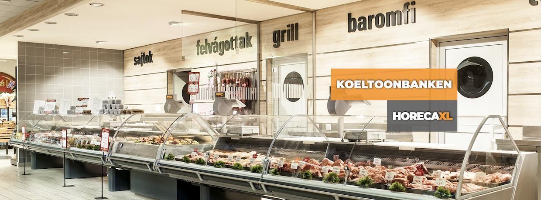 Koeltoonbanken Supermarkten en Retail HorecaXL