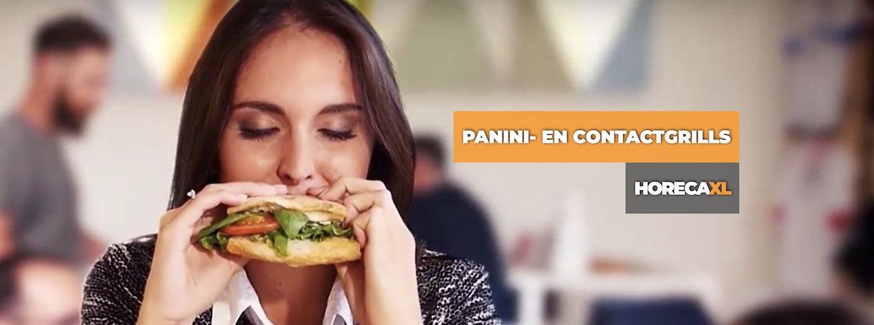 HorecaXL Panini en Contactgrills