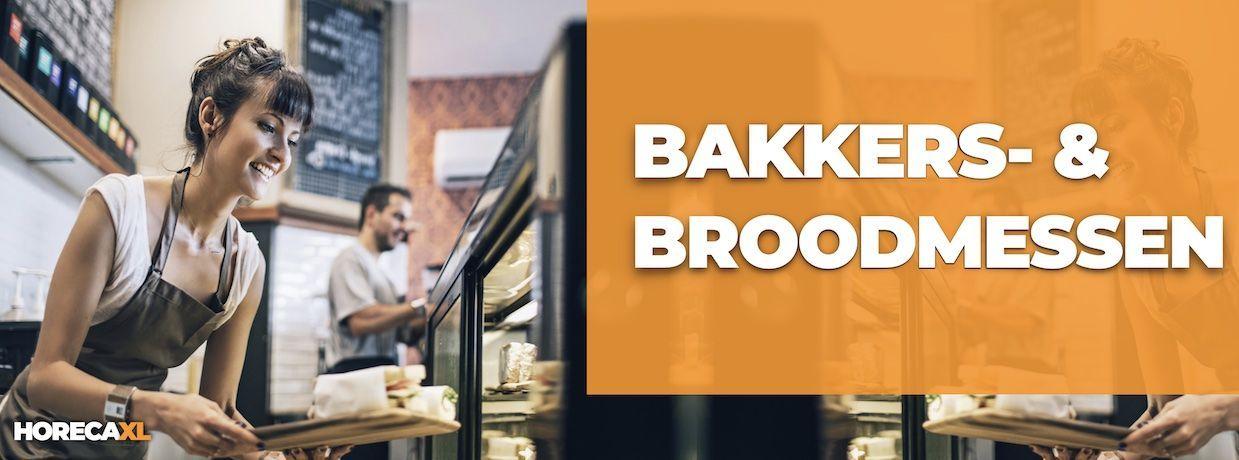 Bakkermessen en Broodmessen Koop je Veilig en Snel op HorecaXL. HorecaXL maakt kwaliteit betaalbaar!