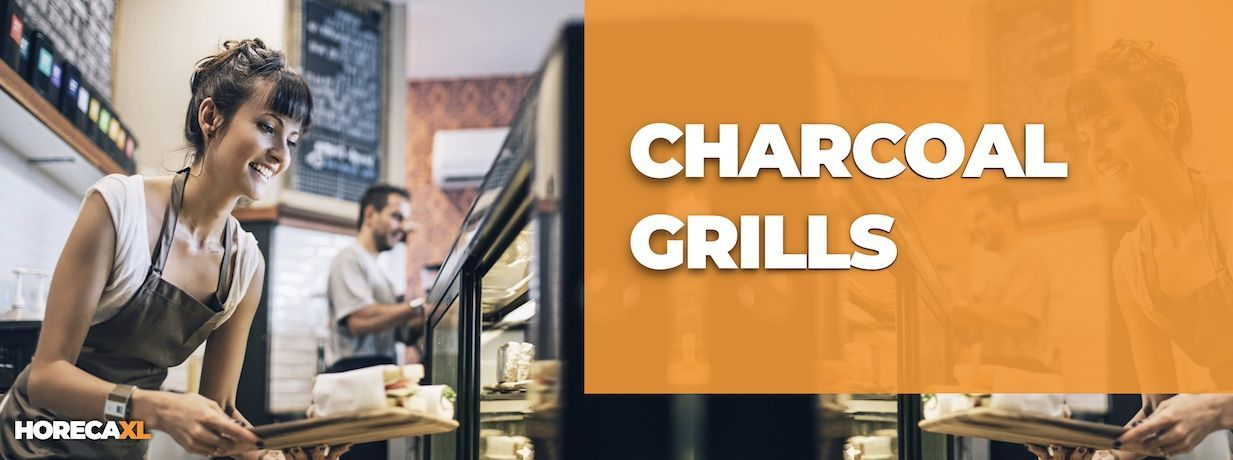 Charcoal Grill Kopen of Leasen? HorecaXL is dé groothandel van Nederland en België voor al uw keukenapparatuur
