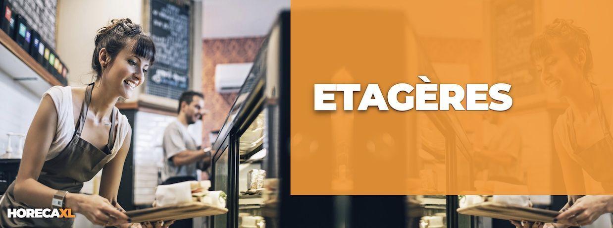 Etagere Kopen? HorecaXL is dé groothandel van Nederland en België voor al uw RVS-artikelen