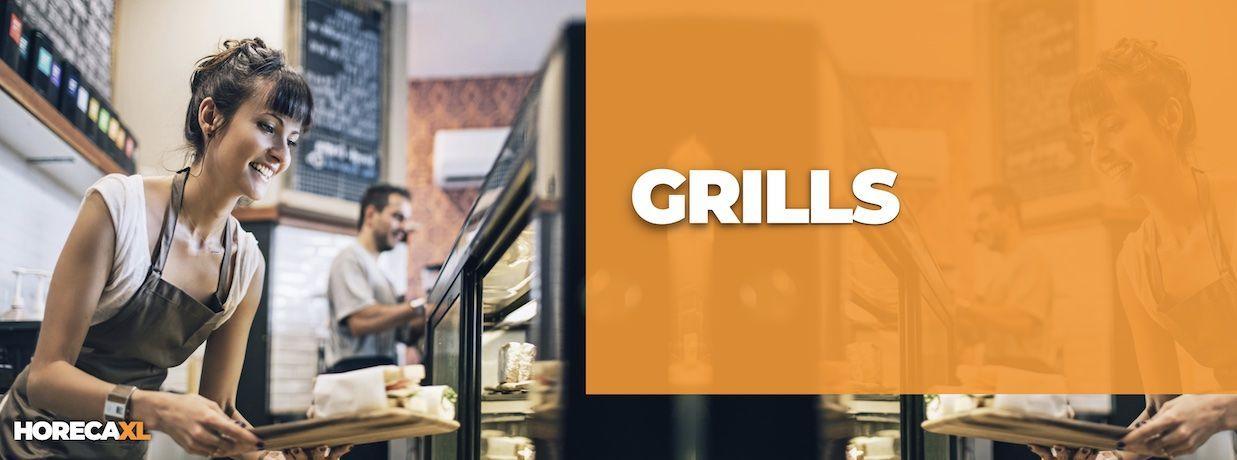 Grills Koop je Veilig en Snel op HorecaXL. Ook Leasing in Nederland én in België
