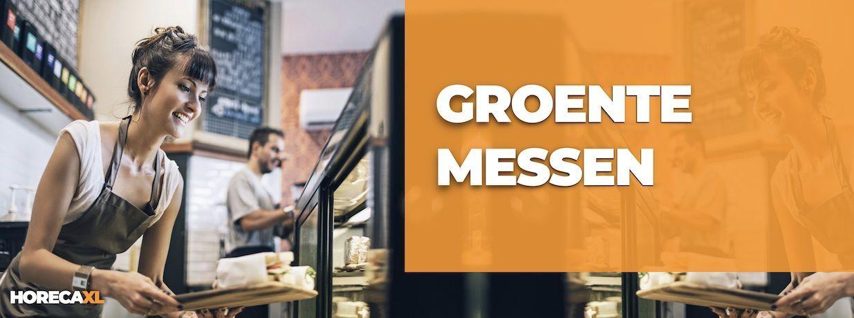 Groentemessen Koop je Veilig en Snel op HorecaXL. HorecaXL maakt kwaliteit betaalbaar!
