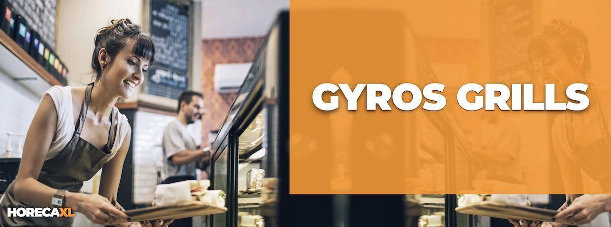 Gyros Grill Kopen of Leasen? HorecaXL is dé groothandel van Nederland en België voor al uw keukenapparatuur