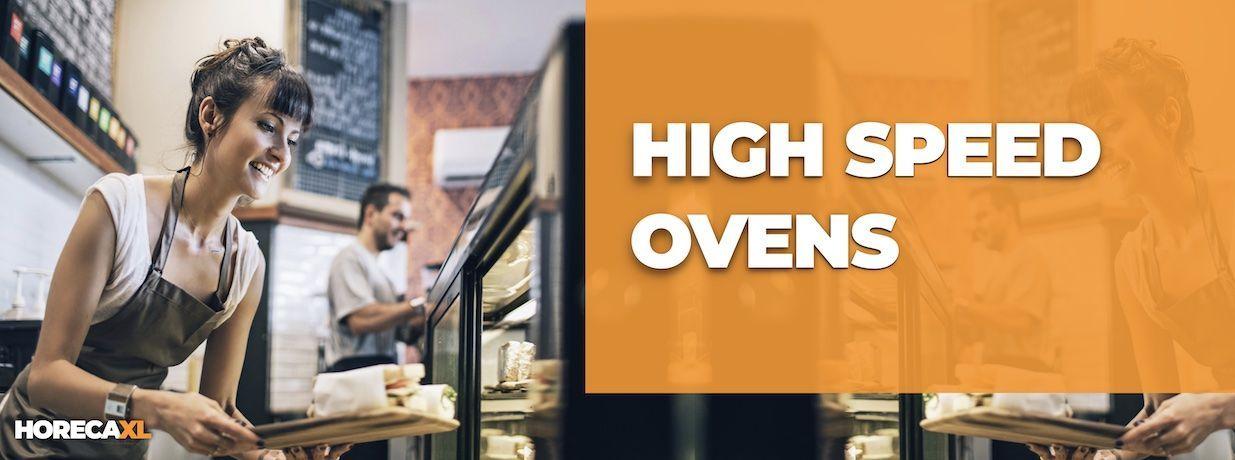 High Speed Oven Kopen of Leasen? HorecaXL is dé groothandel van Nederland en België voor al uw keukenapparatuur