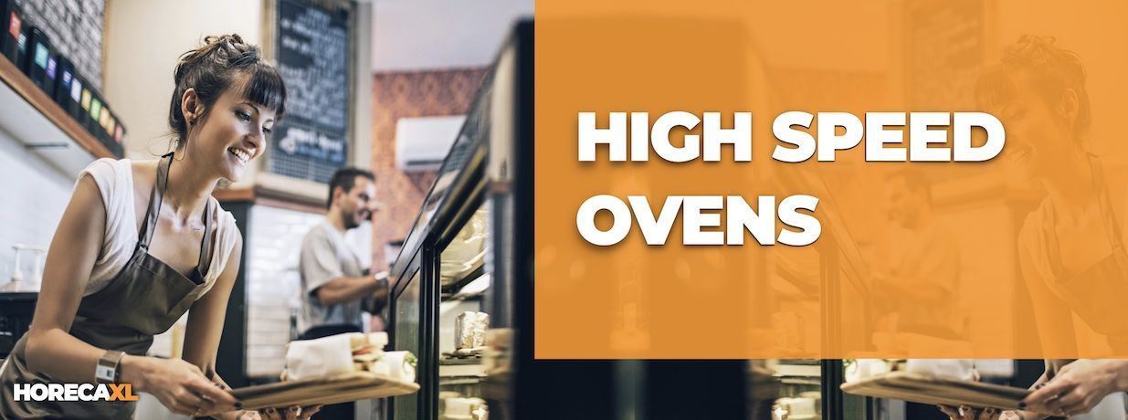 High Speed Ovens Koop je Veilig en Snel op HorecaXL. Ook Leasing in Nederland én in België