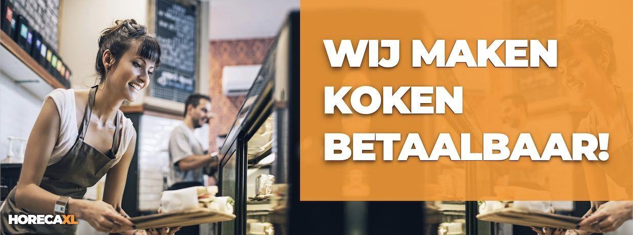 Keukenapparatuur Koop je Online bij HorecaXL. Ook Lease én Financiering. In Nederland én in België