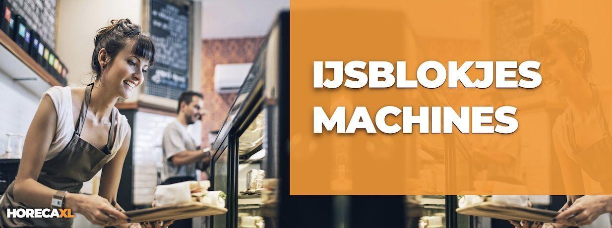 IJsblokjesmachine Kopen of Leasen? HorecaXL is dé groothandel van Nederland en België voor al uw koelapparatuur