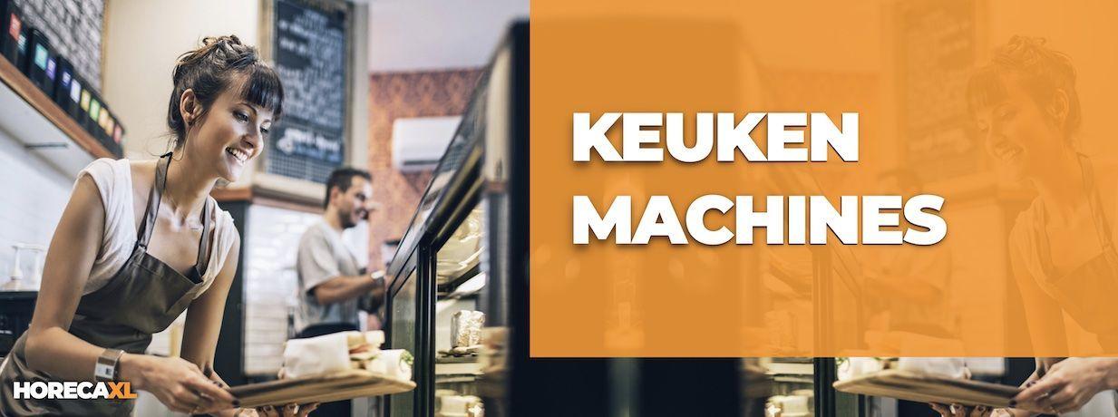 Keukenmachine Kopen of Leasen? HorecaXL is dé groothandel van Nederland en België voor al uw keukenapparatuur