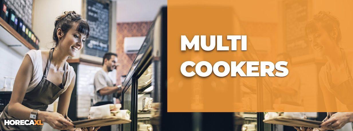 Multicooker Kopen of Leasen? HorecaXL is dé groothandel van Nederland en België voor al uw keukenapparatuur
