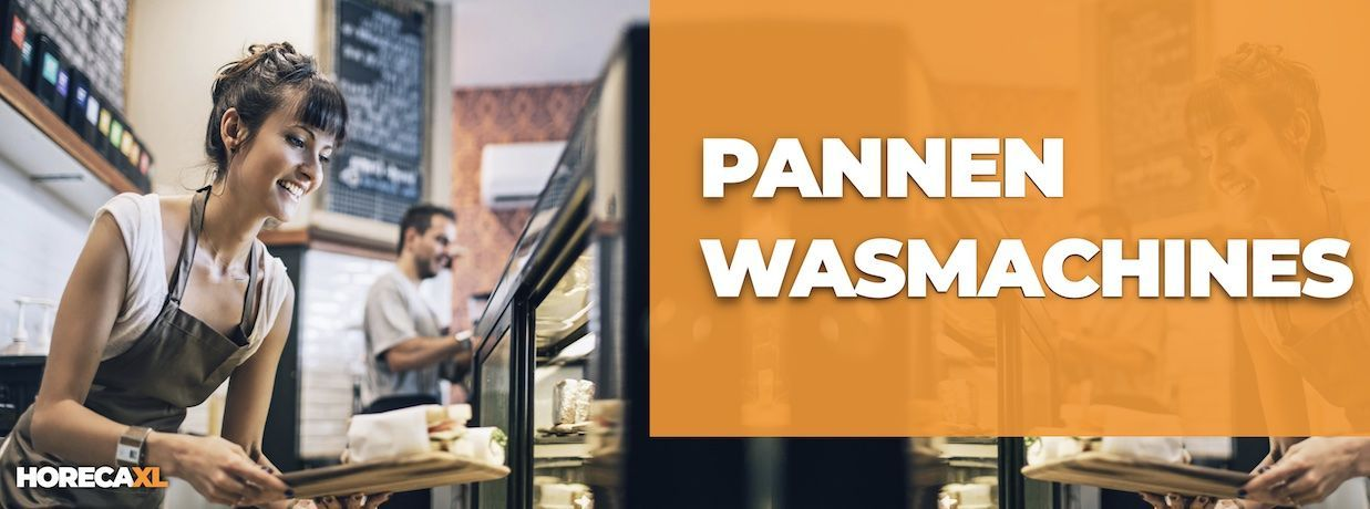 Pannenwasmachine Kopen of Leasen? HorecaXL is dé groothandel van Nederland en België voor al uw pannenwansmachines