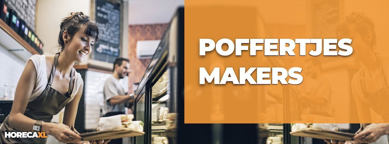 Poffertjesmakers Koop je Veilig en Snel op HorecaXL. Ook Leasing in Nederland én in België
