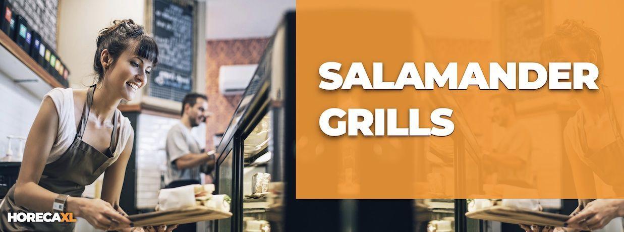 Salamander Grills Koop je Veilig en Snel op HorecaXL. Ook Leasing in Nederland én in België
