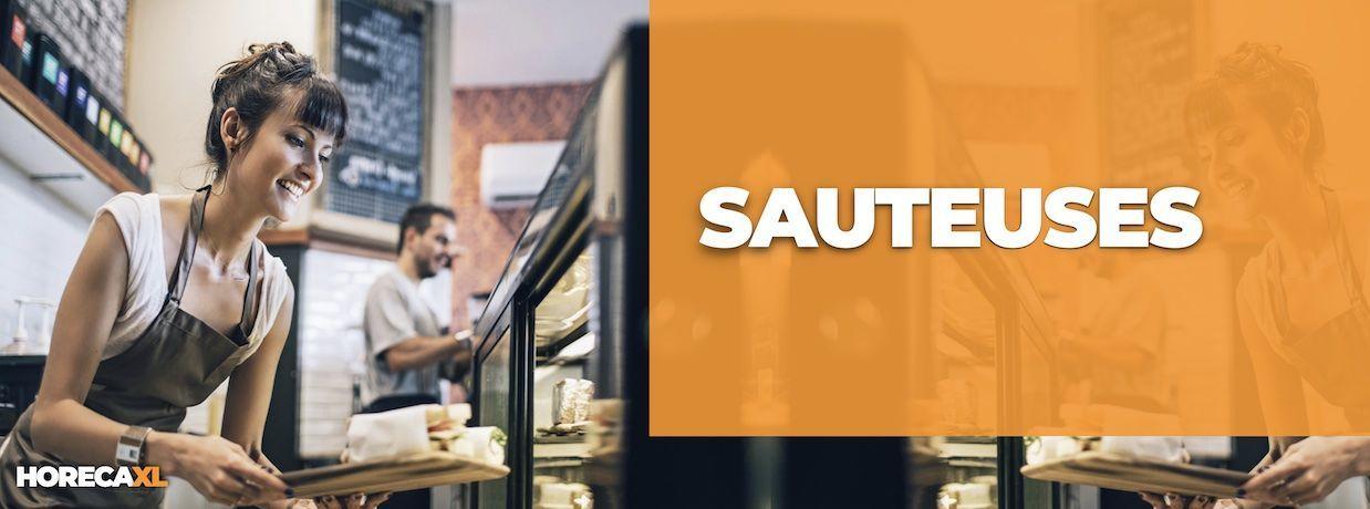 Sauteuses Koop je Veilig en Snel op HorecaXL. HorecaXL maakt kwaliteit betaalbaar!