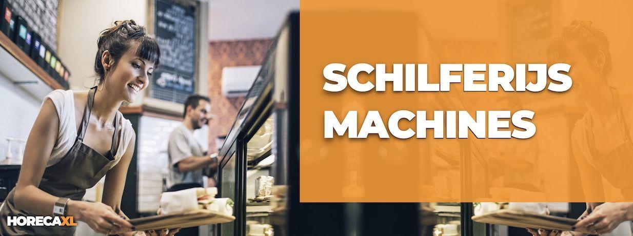 Schilferijsmachines Koop je Veilig en Snel op HorecaXL. Ook Leasing in Nederland én in België