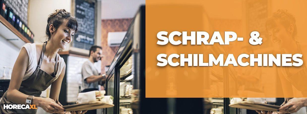 Schrap- en Schilmachines Koop je Veilig en Snel op HorecaXL. Ook Leasing in Nederland én in België