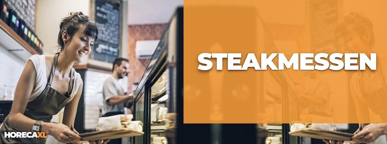 Steakmes Kopen? HorecaXL is dé groothandel van Nederland en België voor al uw kleinmaterialen en keukengerei