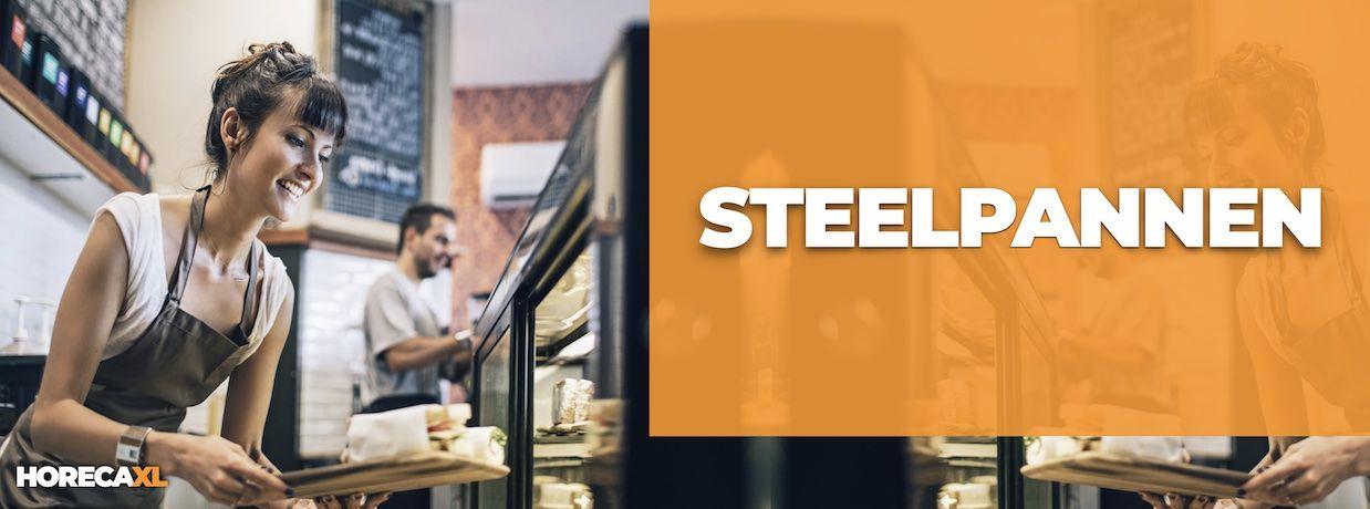 Steelpannen Koop je Veilig en Snel op HorecaXL. HorecaXL maakt kwaliteit betaalbaar!