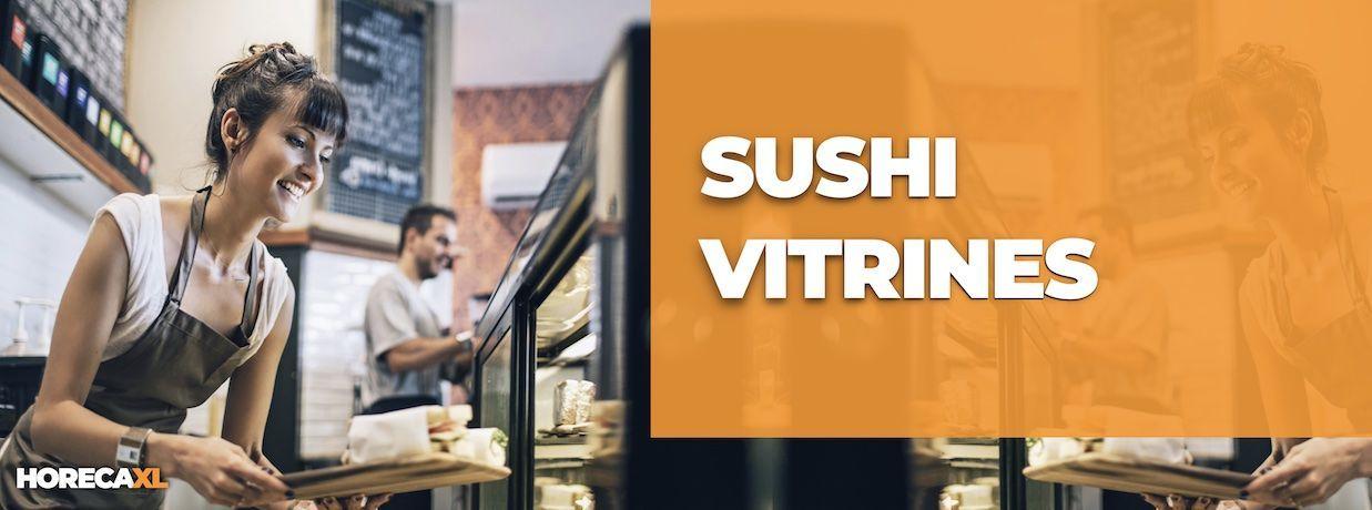 Sushi Vitrine Kopen of Leasen? HorecaXL is dé groothandel van Nederland en België voor al uw koelapparatuur