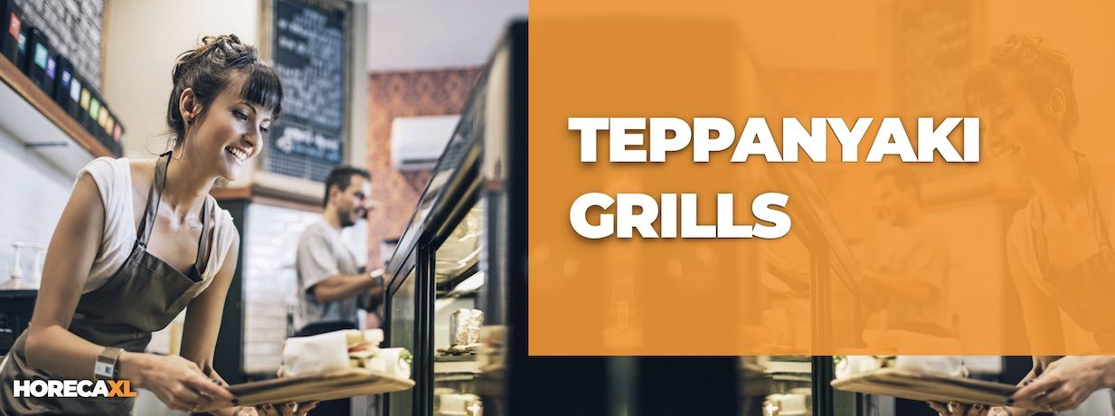 Teppanyaki Grills Koop je Veilig en Snel op HorecaXL. Ook Leasing in Nederland én in België