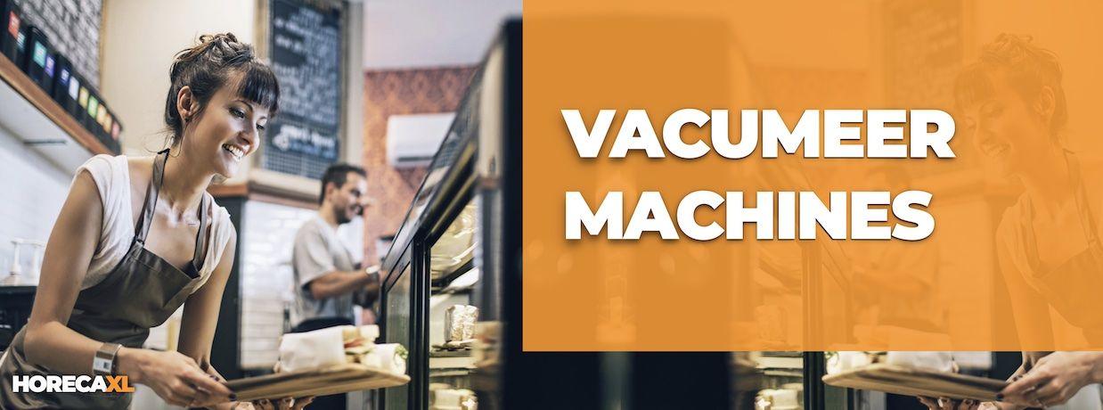 Vacumeermachines Koop je Veilig en Snel op HorecaXL. Ook Leasing in Nederland én in België