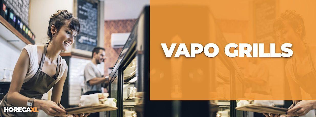 Vapogrill Kopen of Leasen? HorecaXL is dé groothandel van Nederland en België voor al uw keukenapparatuur