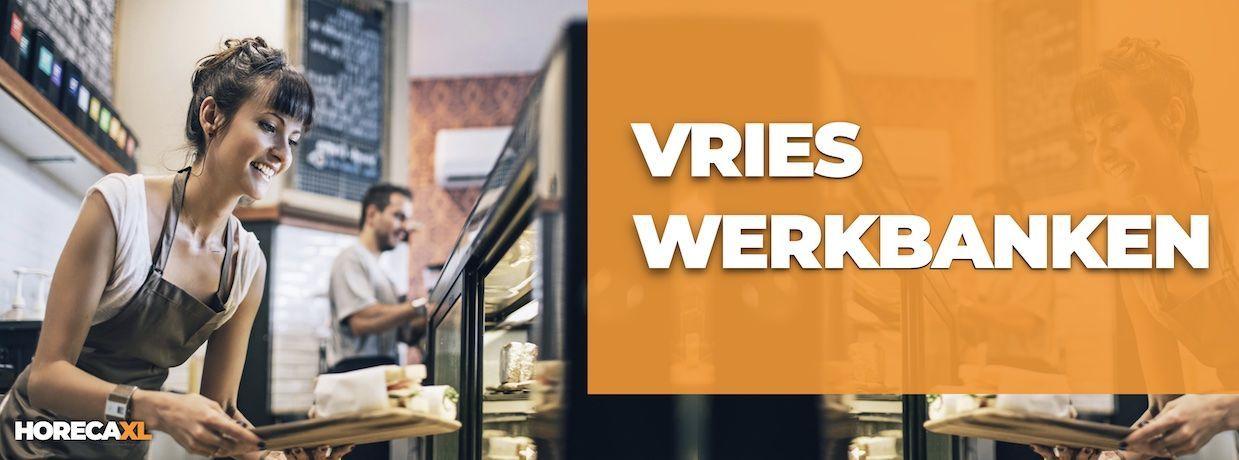 Vrieswerkbanken Koop je Veilig en Snel op HorecaXL. Ook Leasing in Nederland én in België
