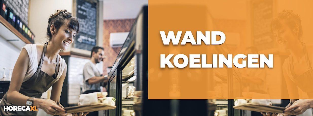 Wandkoeling Kopen of Leasen? HorecaXL is dé groothandel van Nederland en België voor al uw koelapparatuur