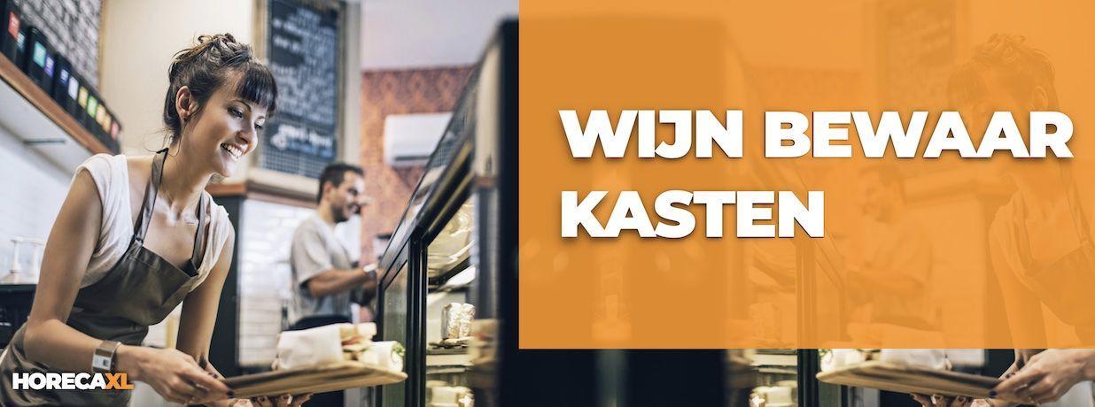 Wijnkast Kopen of Leasen? HorecaXL is dé groothandel van Nederland en België voor al uw koelapparatuur