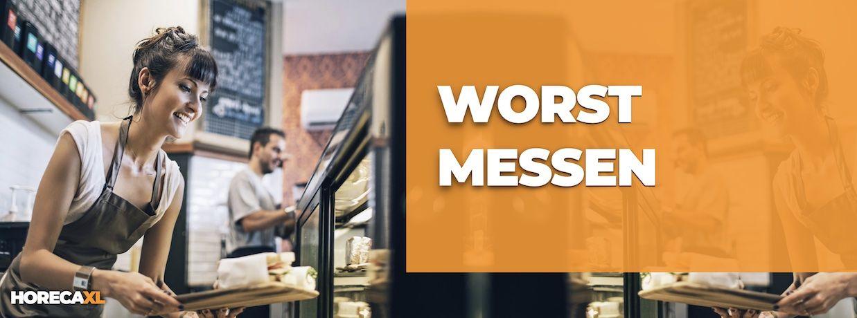 Worstmes Kopen? HorecaXL is dé groothandel van Nederland en België voor al uw kleinmaterialen en keukengerei
