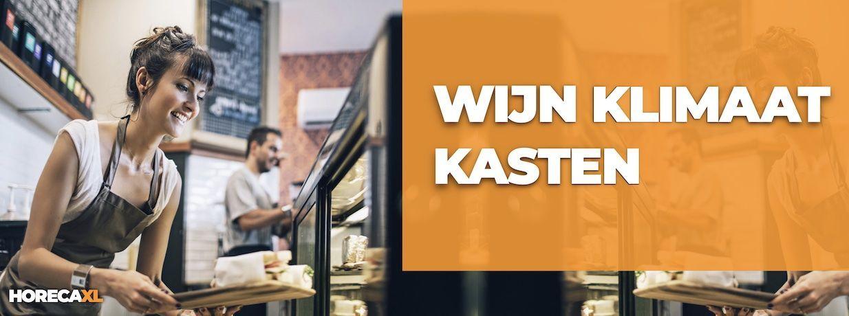 Wijnklimaatkast Kopen of Leasen? HorecaXL is dé groothandel van Nederland en België voor al uw koelapparatuur