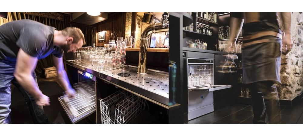 Verplichting glazenspoelmachines in de horeca