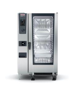 RATIONAL COMBISTEAMER ICOMBI CLASSIC, 20x 2/1 GN, 100 programma's, 300 tot 500 maaltijden per dag, +30° tot +300° C, instelwiel met pushfunctie, kern-temperatuurmeter, volautomatisch schoonmaak-programma
